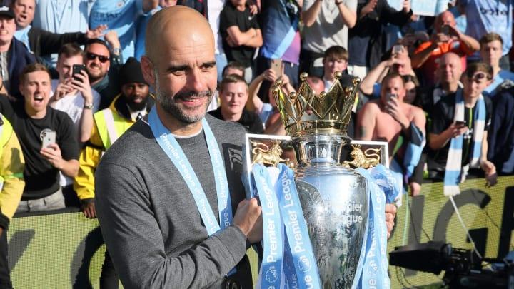 Pep Guardiola is a serial winner