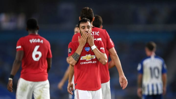 Bruno Fernandes showed his hunger and support the attack for United's third goal