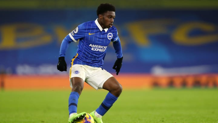 Tariq Lamptey has impressed in the blue of Brighton this season