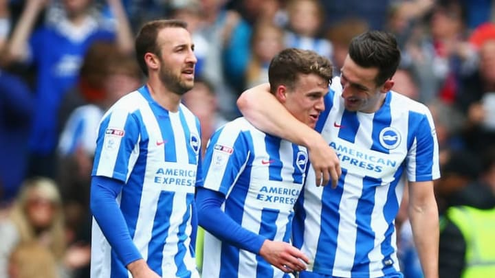 Solly March scored the goal against Wigan Athletic which secured Brighton's promotion to the Premier League in 2017