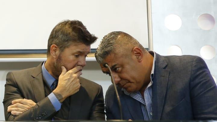 Marcelo Tinelli, Claudio Tapia