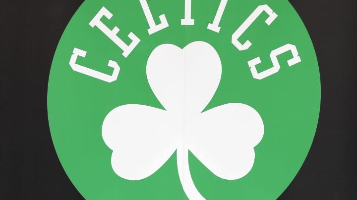 The Boston Celtics logo.