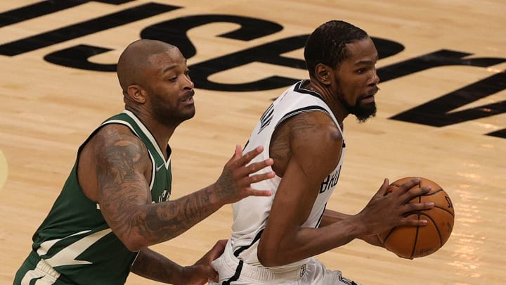 The Brooklyn Nets are the favorites to win the NBA Finals as they lead the Milwaukee Bucks 2-1 in their second round series.