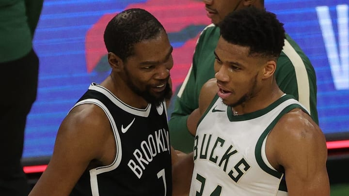 Milwaukee Bucks vs Brooklyn Nets prediction, odds, over, under, spread for Round 2 NBA Playoff game betting lines on Saturday, June 5, 2021.
