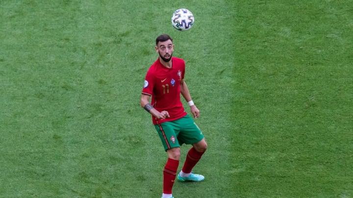 Bruno Fernandes Portugal França Eurocopa