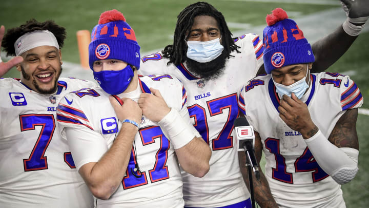 Josh Allen and the Bills' fantasy value is high even in a tough game against the Ravens.