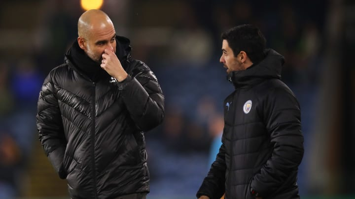 Pep Guardiola and Mikel Arteta were a formidable duo.