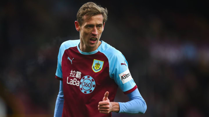 Crouch played just six games for the Clarets before retiring