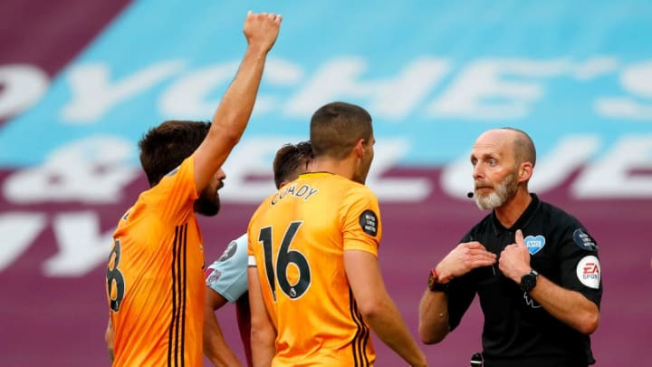Conor Coady, Mike Dean
