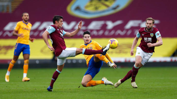 Rodriguez suffered an injury in the 1-1 draw with Burnley