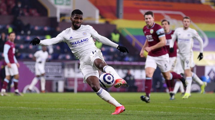 Kelechi Iheanacho's volley earned a point for Leicester