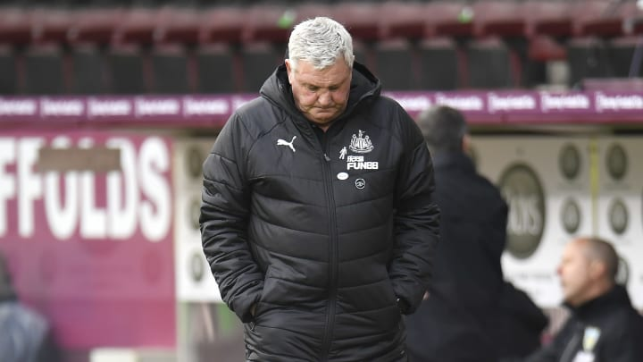Steve Bruce has faced strong criticism from the Newcastle fans this season
