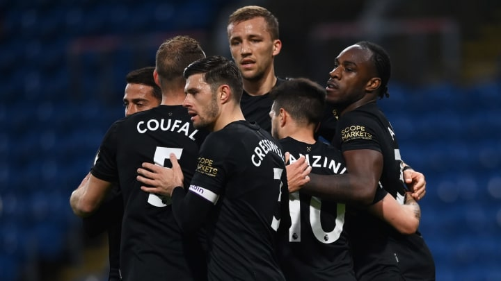 West Ham kept the dream alive by beating Burnley