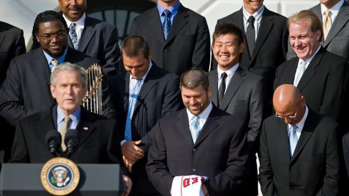 Ramírez no asistió con sus compañeros a la Casa Blanca tras sus títulos con los Medias Rojas
