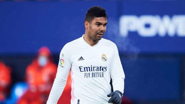 Casemiro es vital en la medular del Real Madrid