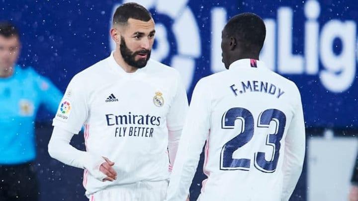 Karim Benzema et Ferland Mendy n'ont rien pas réussi à concrétiser la remontada du Real Madrid