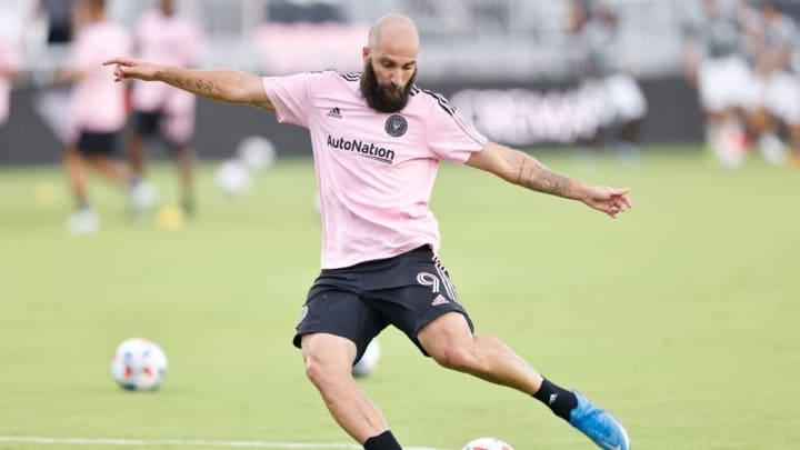 Gonzalo Higuain Inter Miami MLS