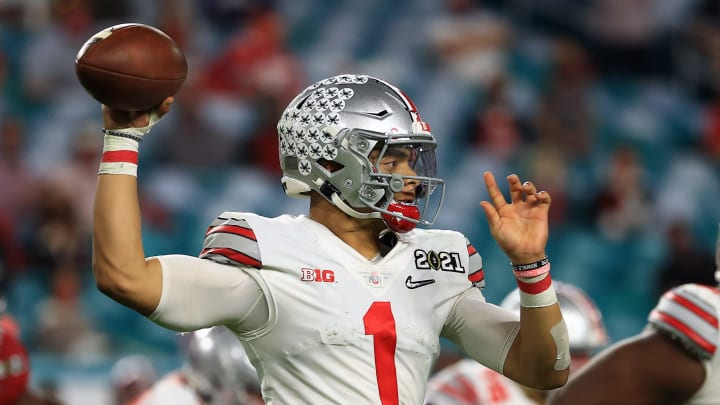 Justin Fields could break the curse of Ohio State quarterbacks at the next level.