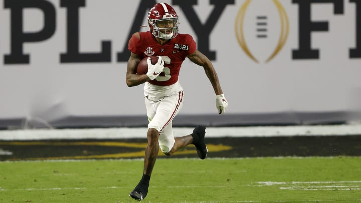 DeVonta Smith NFL Draft predictions for 2021 NFL Draft.