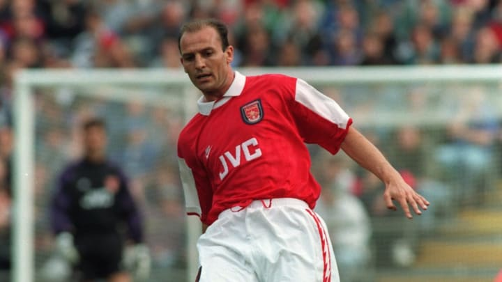 Steve Bould was a regular in the Gunners side