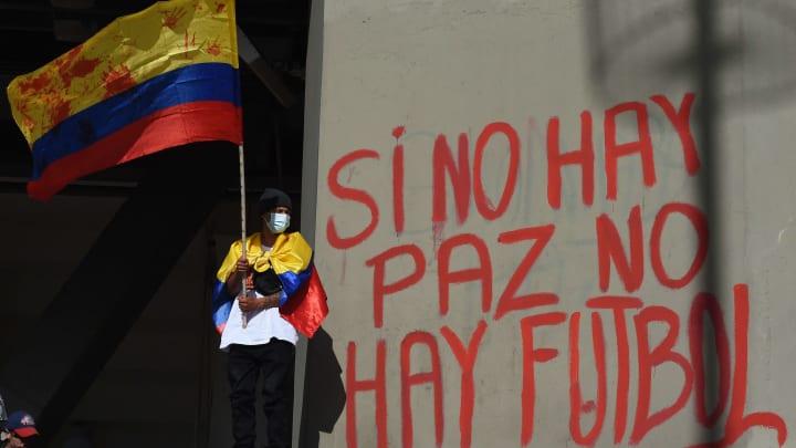"""""""Si no hay paz, no hay fútbol"""""""
