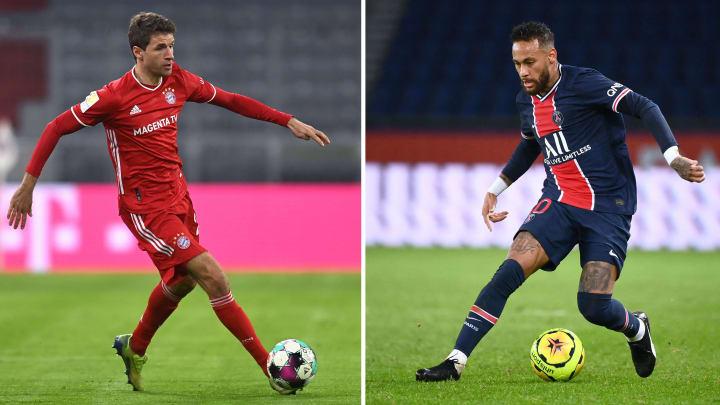 Müller und Neymar