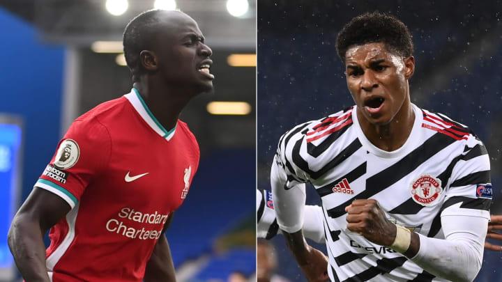 Duel au sommet de la Premier League entre Liverpool et Manchester United