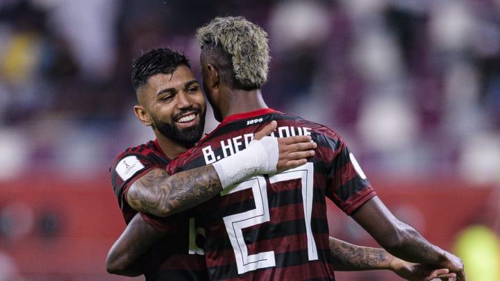 Gabriel Barbosa, Bruno Henrique Pinto