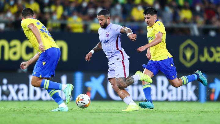 Barça ficou no 0 a 0 com o Cádiz por LaLiga