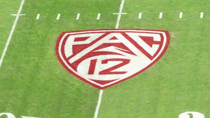 Pac-12 logo, Cal v Stanford