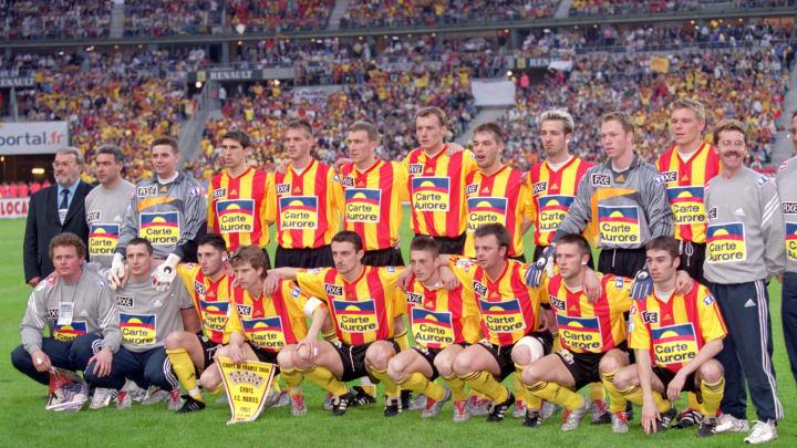 L'équipe de Calais, finaliste de la Coupe de France 2000.