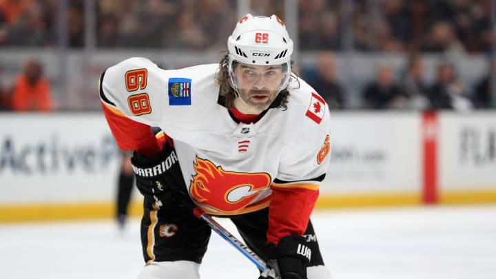 Jaromir Jagr, Calgary Flames v Anaheim Ducks