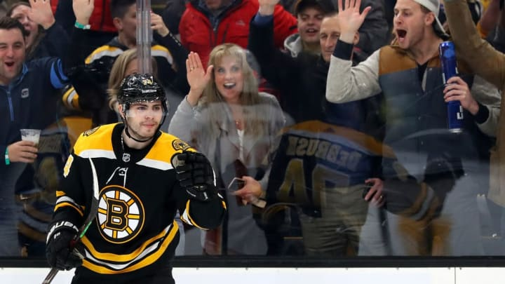 Players like Jake Debrusk needs to step up during this playoff run.