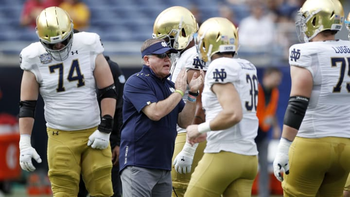 Brian Kelly and Notre Dame.