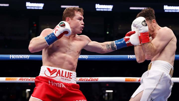 """Saúl """"Canelo"""" Álvarez fue claro dominador en la pelea contra Callum Smith"""