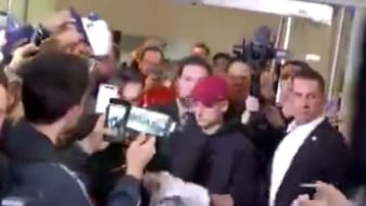 Javier Hernández ya causa sensación en Los Angeles