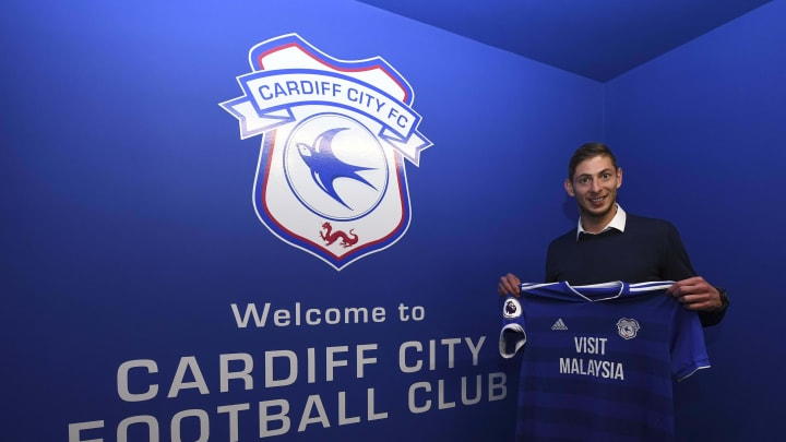 The fan's gesture referenced the death of Emiliano Sala