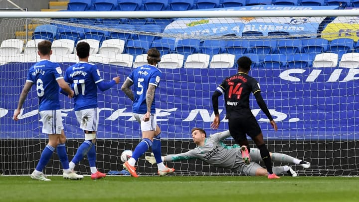 Cardiff lost ground in the play-off race thanks to a late Watford goal