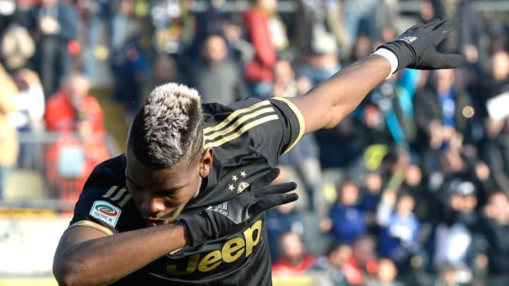 Pogba was a big hit during his four-year stay at Juventus
