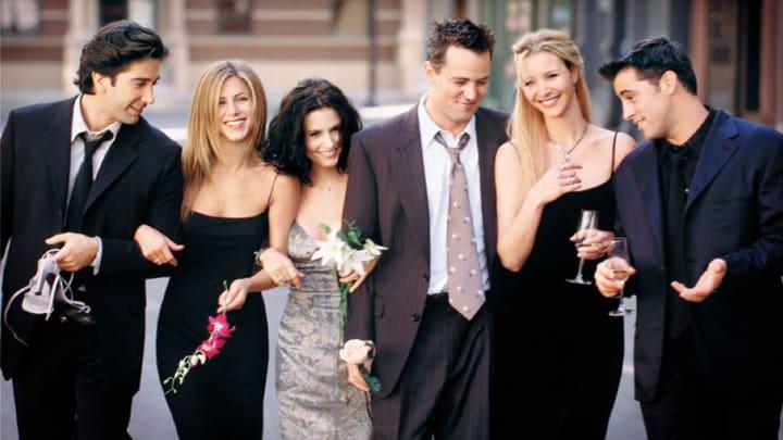 Matthew Perry, Courteney Cox, Jennifer Aniston, David Schwimmer, Lisa Kudrow, Matt Leblanc