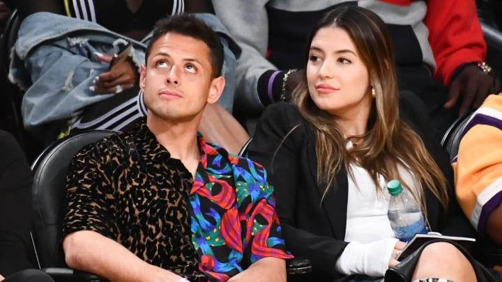 Sarah Kohan y Javier Hernández estuvieron casados durante dos años