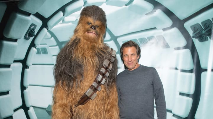 Chewbacca, R2-D2, Chris Russo
