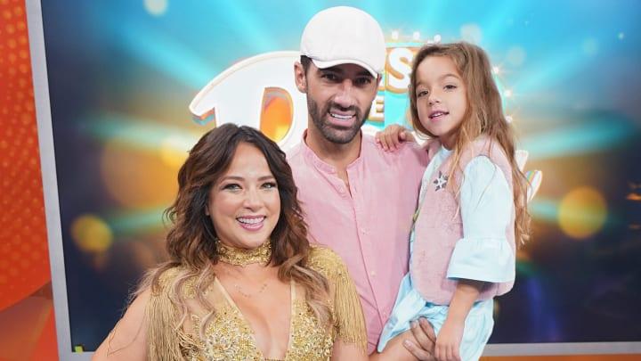 Adamari López y Toni Costa organizaron un viaje juntos por Europa junto a su hija Alaia, a pesar de estar separados