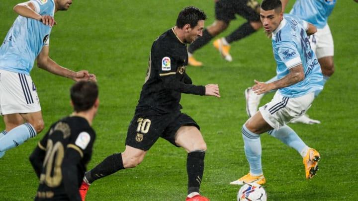 Lionel Messi Celta Barcelona LaLiga