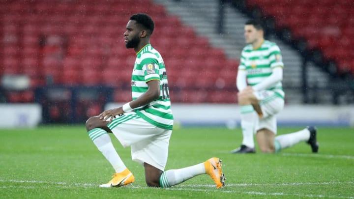 Odsonne Édouard devrait rester au Celtic jusqu'à la fin de saison.
