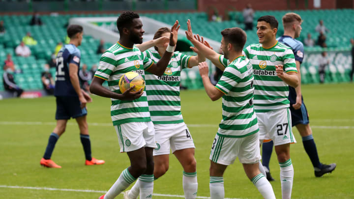 Edouard was the hat-trick hero as Celtic dismissed Hamilton