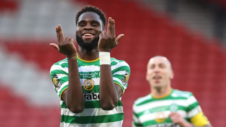 Odsonne Edouard s'amuse avec le Celtic Glasgow