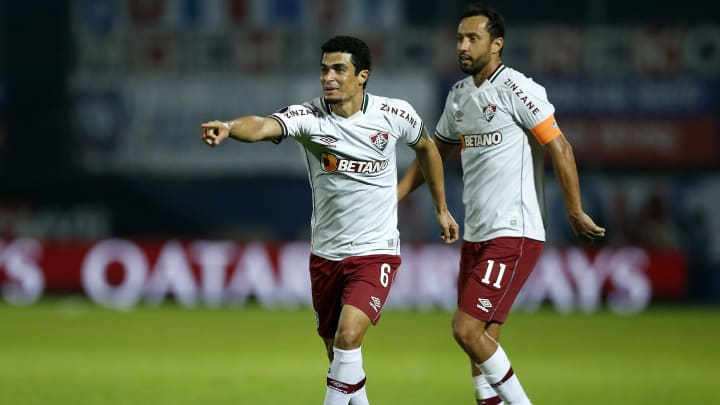 Fluminense venceu o Cerro com gols de Nenê e Egídio