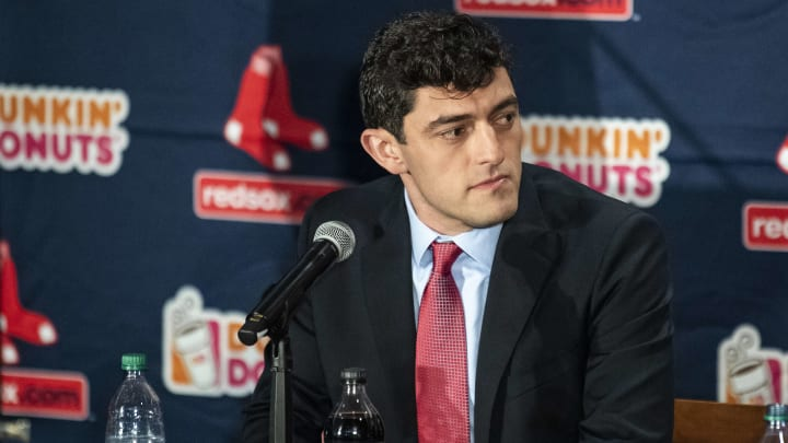 Chaim Bloom has a lot of work to do in his first year with the Red Sox.