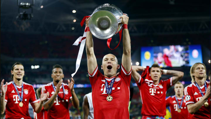 Robben helped Bayern Munich to Champions League glory in 2013